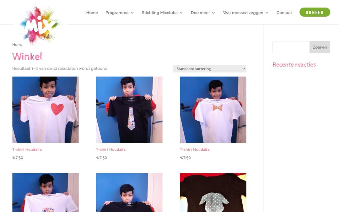 Webshop Mixclubs